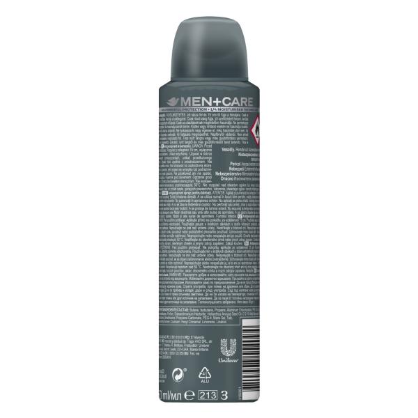 Dove Deodorant spray, Barbati, 150 ml, Men Care Elements Talc Mineral Sandalwood 1