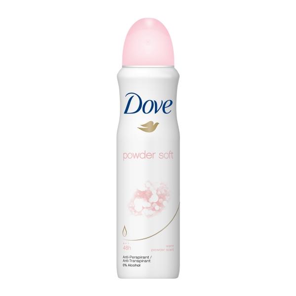 Dove Deodorant spray, Femei, 150 ml, Powder Soft 0