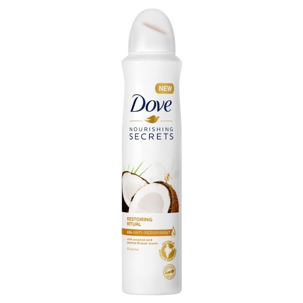 Dove Deodorant spray, Femei, 150 ml, Restoring Ritual Coconut Jasmine 0