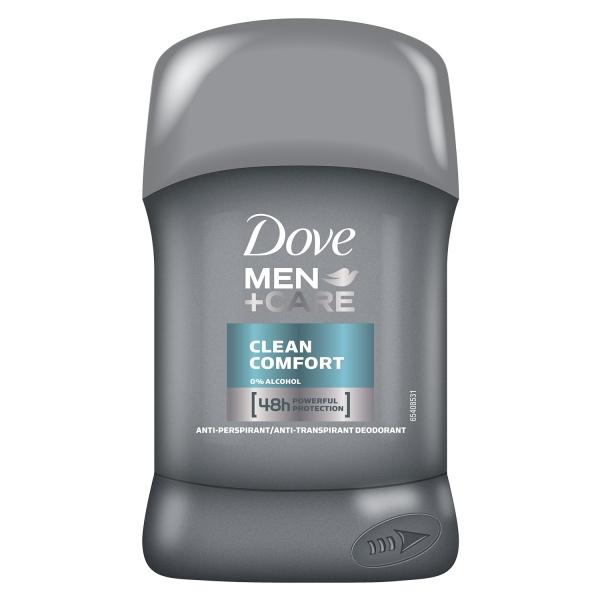 Dove Deodorant stick, Barbati, 50 ml, Men Care Clean Comfort 0