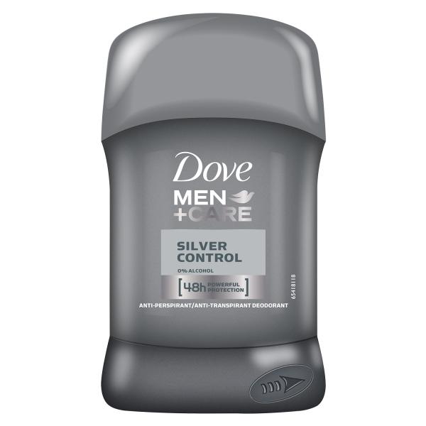 Dove Deodorant stick, Barbati, 50 ml, Men Care Silver Control 0