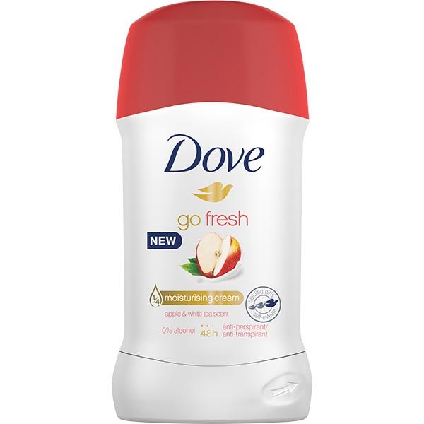Dove Deodorant stick, Femei, 40 ml, Go Fresh Apple and White Tea 0