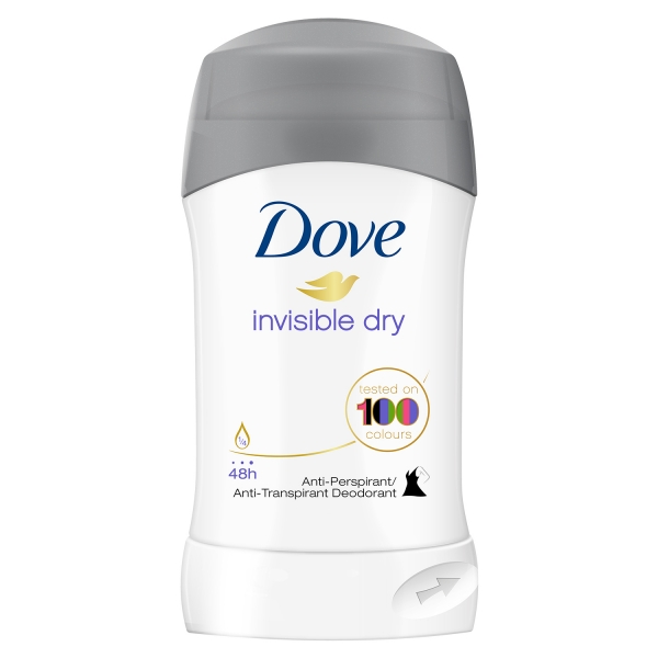 Dove Deodorant stick, Femei, 40 ml, Invisible Dry 0