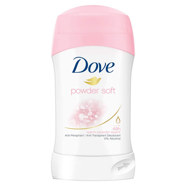 Dove Deodorant stick, Femei, 40 ml, Powder Soft 0