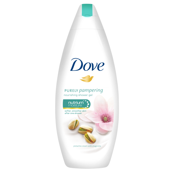 Dove Gel de dus, 250 ml, Purely Pampering Pistachio Cream with Magnolia 0