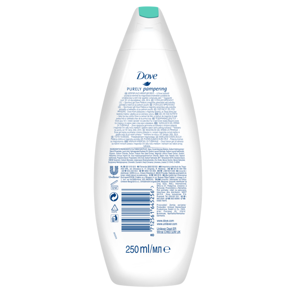 Dove Gel de dus, 250 ml, Purely Pampering Pistachio Cream with Magnolia 1