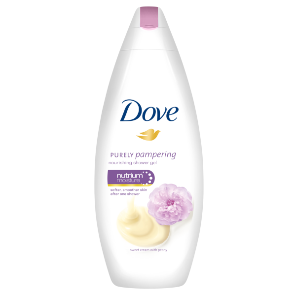 Dove Gel de dus, 250 ml, Purely Pampering Sweet Cream with Peony 0