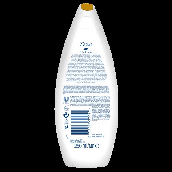 Dove Gel de dus, 250 ml, Silk Glow 1