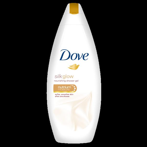 Dove Gel de dus, 250 ml, Silk Glow 0