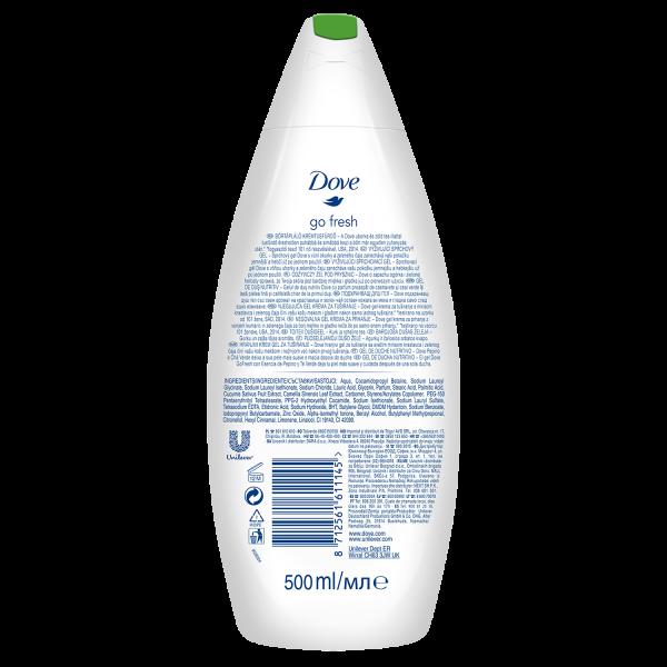 Dove Gel de dus, 500 ml, Go Fresh - Fresh Touch 1