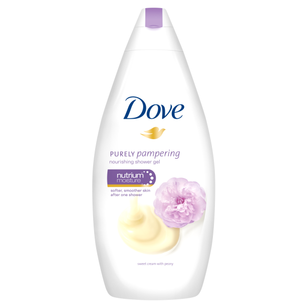Dove Gel de dus, 500 ml, Purely Pampering Sweet Cream with Peony 0