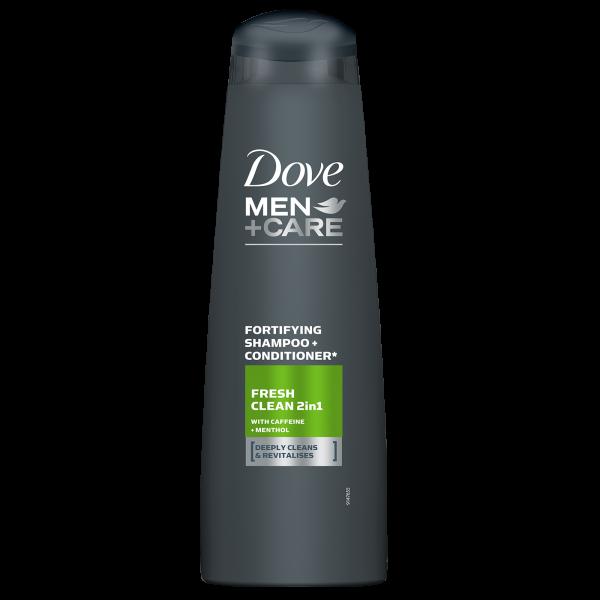 Dove Sampon, Barbati, 400 ml, Men+Care, Fresh Clean 0