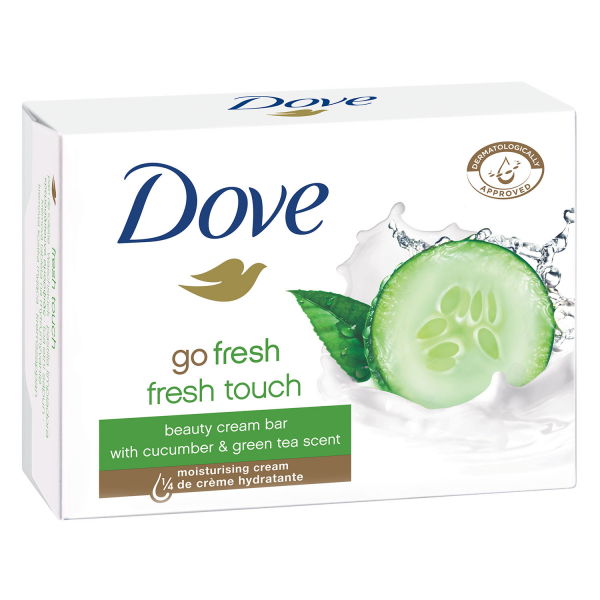 Dove Sapun crema, 100 g, Go Fresh Cucumber and Green Tea 0
