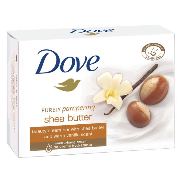Dove Sapun crema, 100 g, Purely Pampering Shea Butter with Warm Vanilla 0