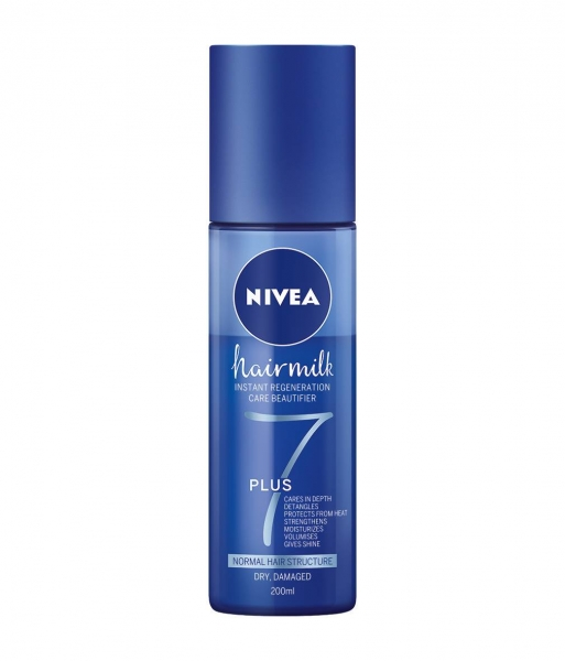 Nivea Balsam de par, Spray, pentru fir normal, 200 ml, Hairmilk 0