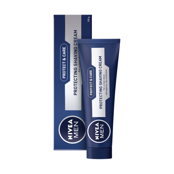 Nivea Crema pentru ras, 100 ml, Protect and Care 0