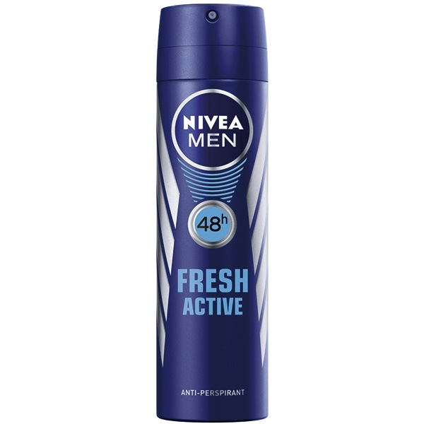 Nivea Deodorant spray, Barbati, 150 ml, Fresh Active 0