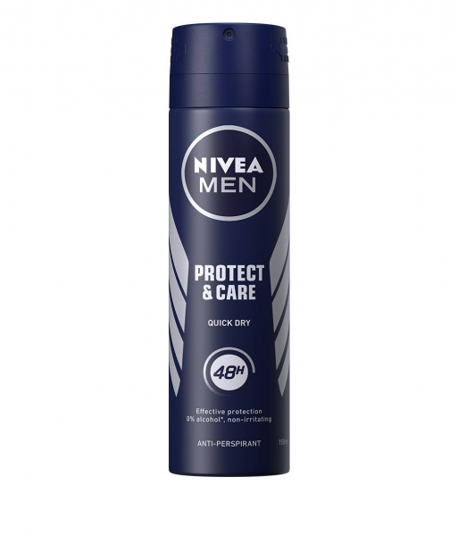 Nivea Deodorant spray, Barbati, 150 ml, Protect and Care 0
