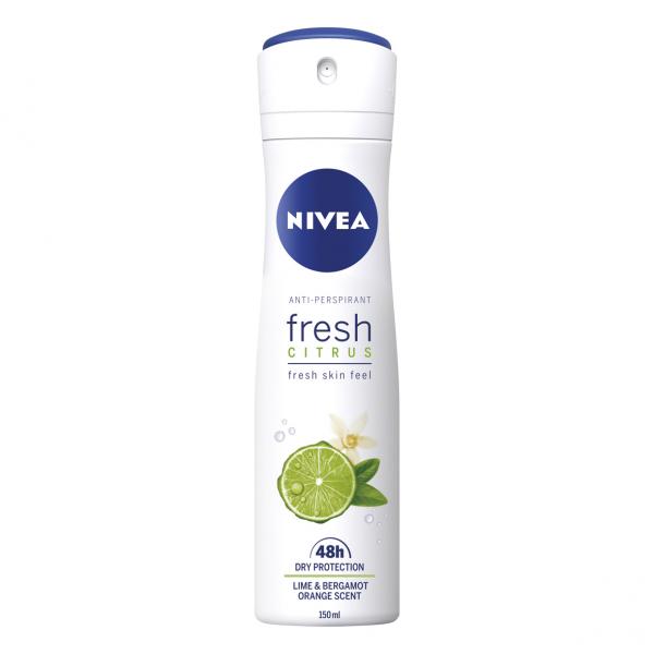 Nivea Deodorant spray, Femei, 150 ml, Fresh Citrus 0