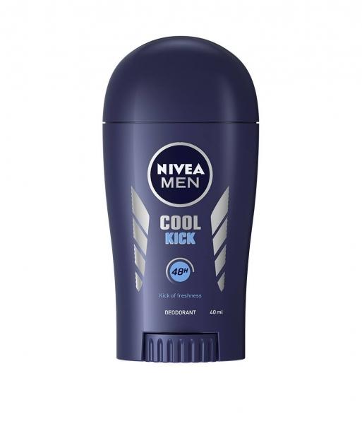 Nivea Deodorant stick, Barbati, 40 ml, Cool Kick 0