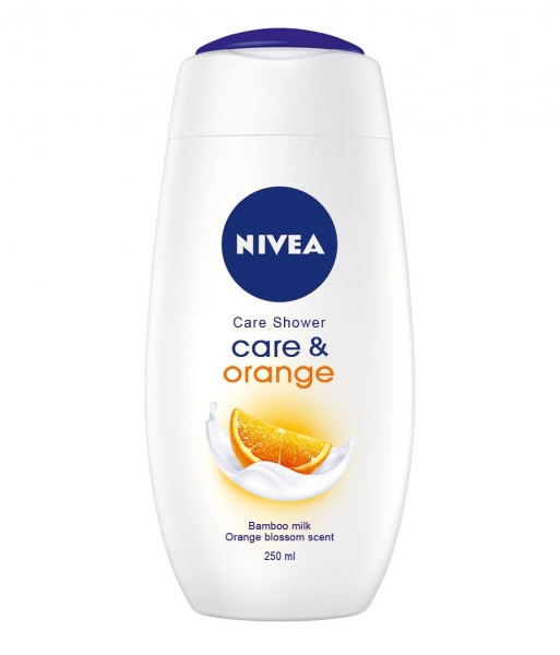 Nivea Gel de dus, 250 ml, Care and Orange 0