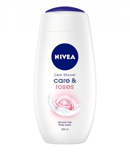 Nivea Gel de dus, 250 ml, Care and Roses 0