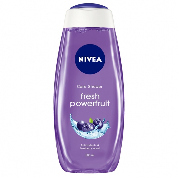 Nivea Gel de dus, 500 ml, Fresh Powerfruit 0