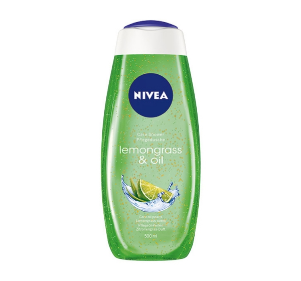 Nivea Gel de dus, 500 ml, Lemongrass and Oil 0