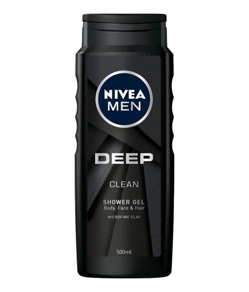 Nivea Gel de dus, Barbati, 500 ml, Deep 0