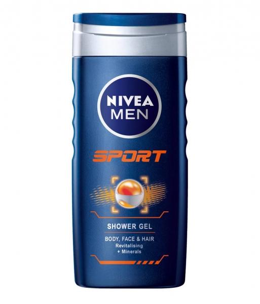 Nivea Gel de dus, Barbati, 500 ml, Sport 0