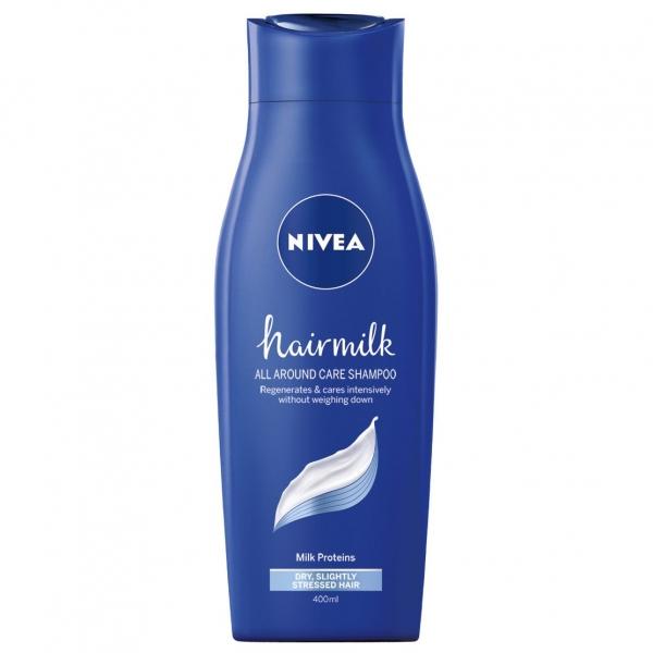 Nivea Sampon, 400 ml, Hairmilk pentru fir normal 0