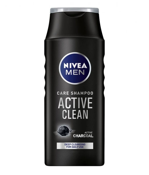 Nivea Sampon, Barbati, 250 ml, Active Clean 0