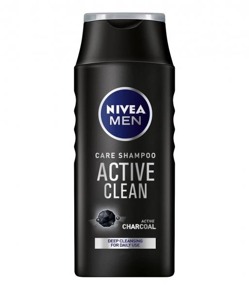 Nivea Sampon, Barbati, 400 ml, Active Clean 0