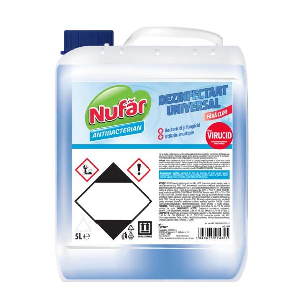 Nufar Dezinfectant universal, fara clor, 5 L 0