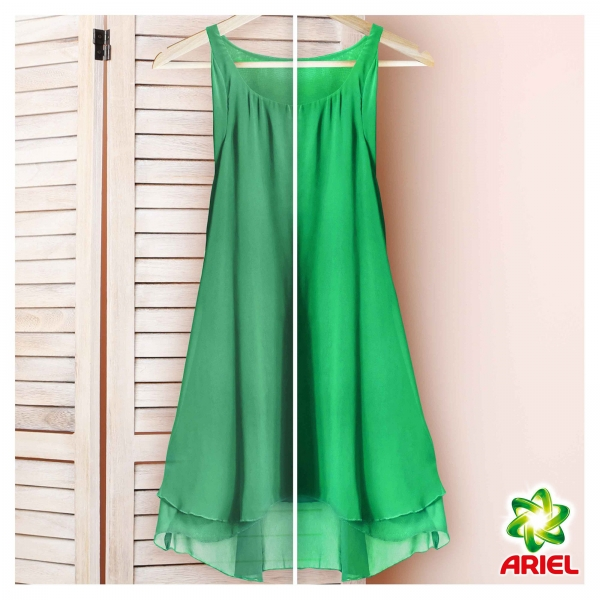 Pachet promo 4 x Ariel Detergent lichid, 2.2L, 40 spalari, Color 1