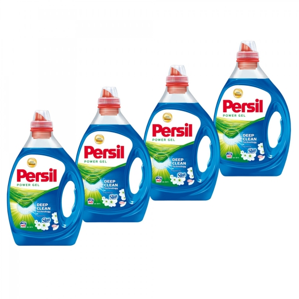 Pachet promo 4 x Persil Detergent lichid, 2L, 40 spalari, Power Gel Freshness by Silan 0