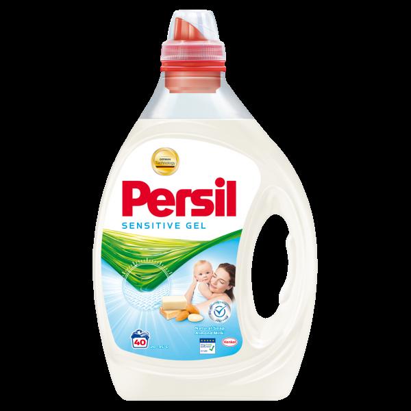 Persil Detergent lichid, 2L, 40 spalari, Sensitive Gel 0