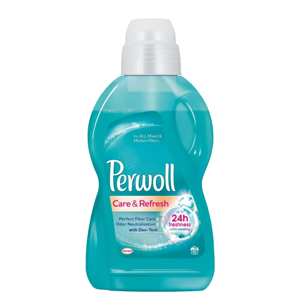 Perwoll Detergent lichid, 900 ml, 15 spalari, Care & Refresh 0
