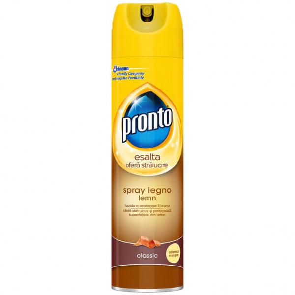 Pronto Spray pentru mobila, 400 ml, Lemn, Classic 0