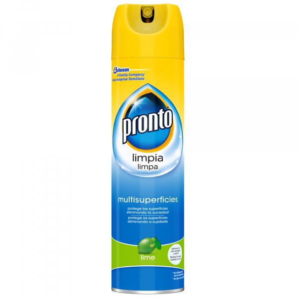 Pronto Spray pentru lustruit mobila, 400 ml, Multi suprafete, Lime 0