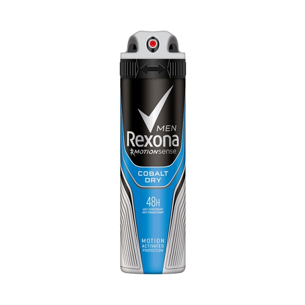Rexona Deodorant spray, Barbati, 150 ml, Cobalt Dry 0