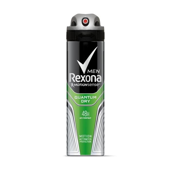 Rexona Deodorant spray, Barbati, 150 ml, Quantum Dry 0