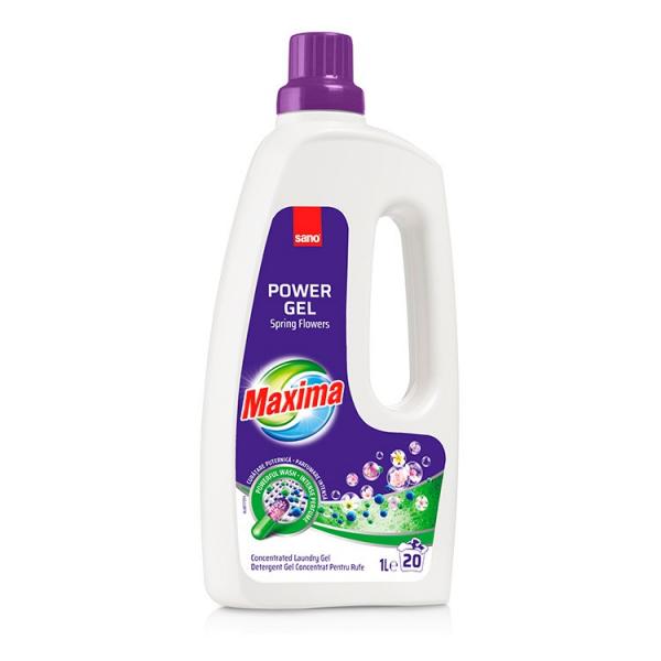 Sano Detergent lichid, 1 L, 10 spalari, Maxima Spring Flowers 0