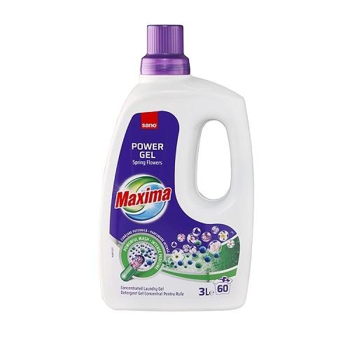 Sano Detergent lichid, 3 L, 60 spalari, Maxima Spring Flowers 0
