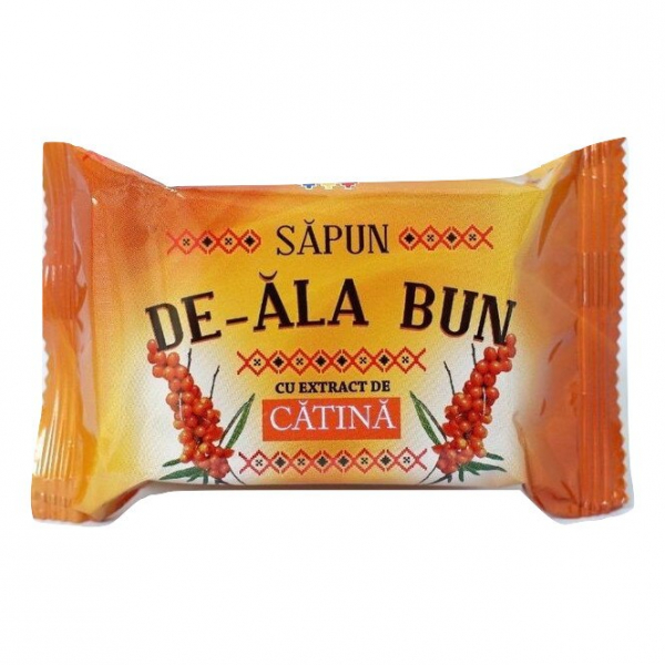 Sapun De-ala Bun, 90 g, cu extract de Catina 0