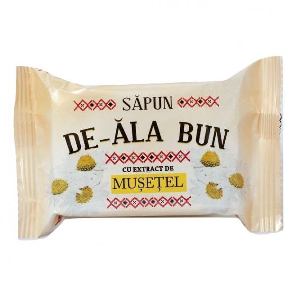 Sapun De-ala Bun, 90 g, cu extract de Musetel 0