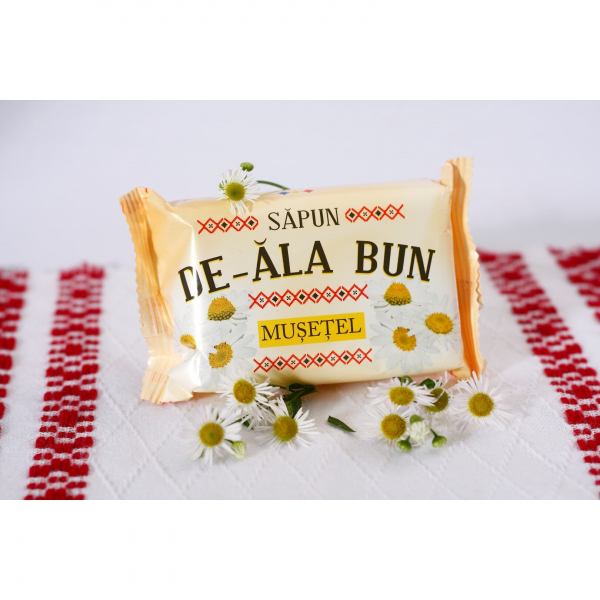 Sapun De-ala Bun, 90 g, cu extract de Musetel 1