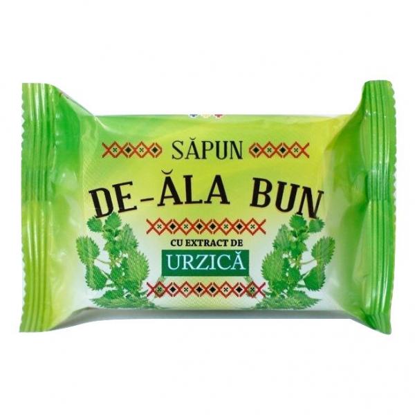 Sapun De-ala Bun, 90 g, cu extract de Urzica 0