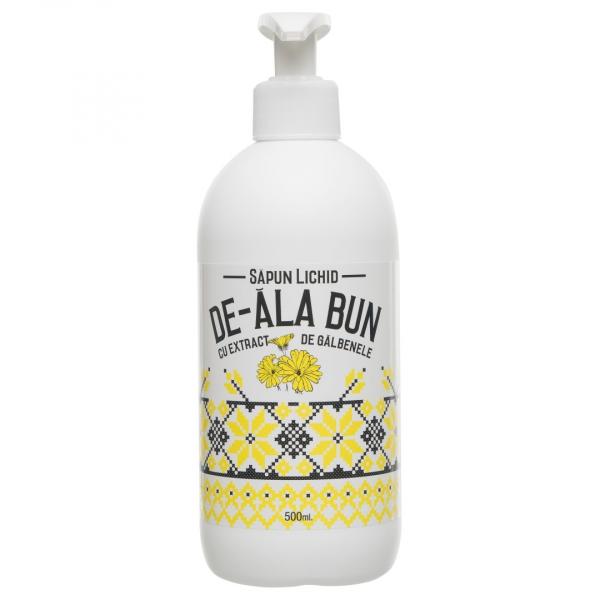 Sapun De-ala Bun cu extract de galbenele, lichid, 500 ml 0