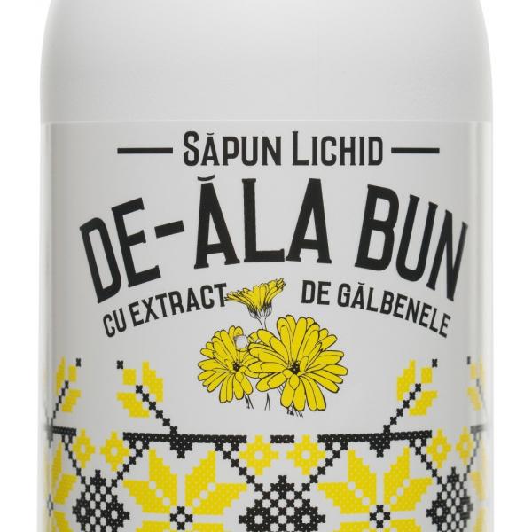 Sapun De-ala Bun cu extract de galbenele, lichid, 500 ml 1